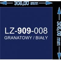 Laser Flex LZ-909-008 granatowy/biały 305x305