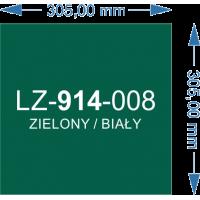 LZ-914-008 zielony/biały 305X305