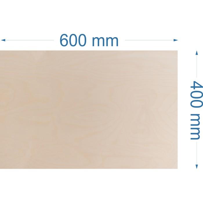 Brzoza 600x400mm, gr. 4mm