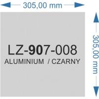 LZ-907-008 aluminium/czarny